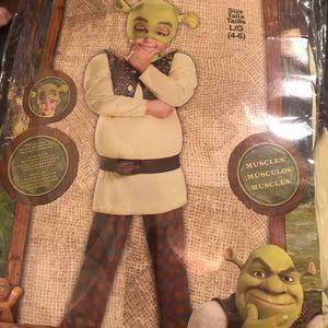 Shrek halloween costume. Kids 4-6 large NEW DELUXE